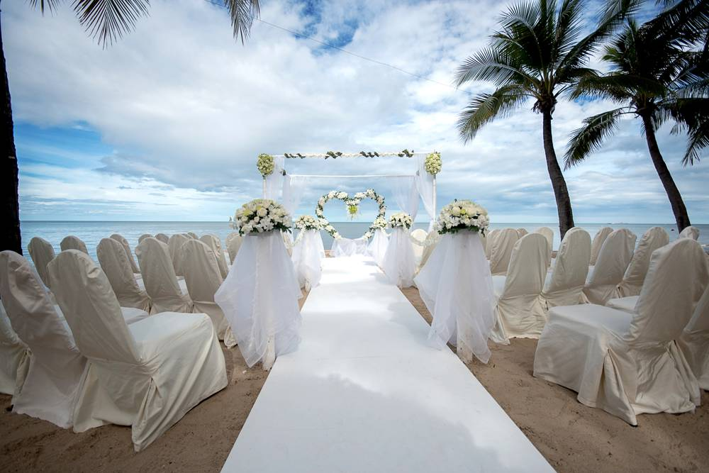 Beach Wedding at The Islander
